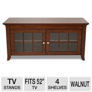 Cravin TDERC48 Walnut Finish A/V Credenza