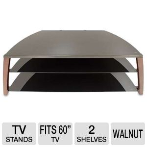 Cravin TDIIX50W 50in wide Metal Glass TV Stand