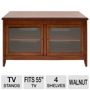 Cravin TDLCT5028 Walnut Finish A/V Credenza