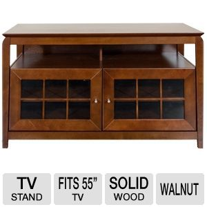 Cravin TDYAB4828  Walnut Finish A/V Furniture