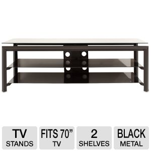 "Cravin TDLBH60 60"" Metal Glass TV Stand"