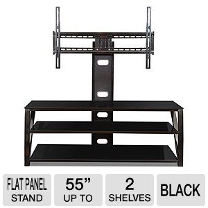 Cravin 3 Way Flat Panel Stand with Built-in Mount