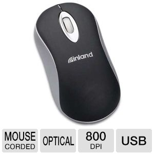 Inland 07045 U-click Mini Notebook Mice