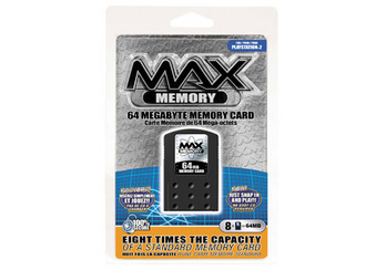 Intec 64MB Max Memory Playstation 2 Memory Card