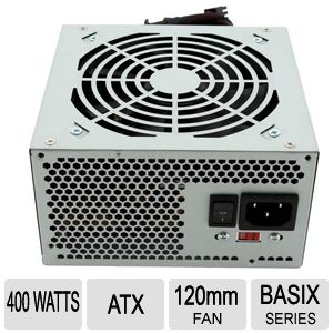 Solid Gear Basix 400W Power Supply REFURB