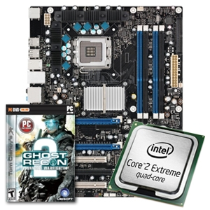 Intel DX38BT w/ Core 2 Extreme QX9650 &amp; GRAW2 Game