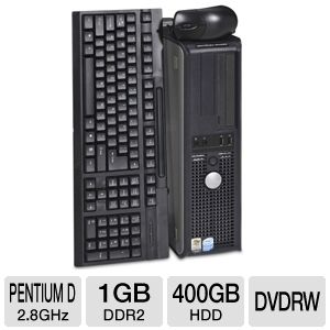 Dell Optiplex GX520 Desktop PC (Off-Lease)