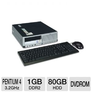 HP Compaq dc5100 Desktop Computer (Off-Lease)