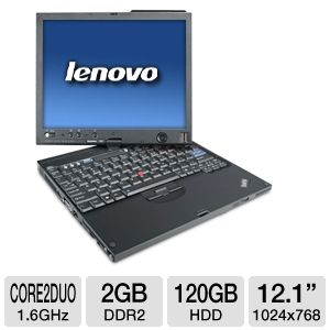 "Lenovo 12.1"" Refurbished Tablet PC"