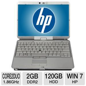 "HP EliteBook 2730p 12.1"" Core 2 Duo 120GB Notebook"