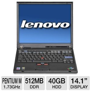 "Lenovo ThinkPad T42 14"" Notebook PC"