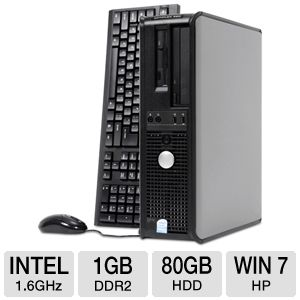 Dell Optiplex 360 Dual-Core 80GB Desktop PC