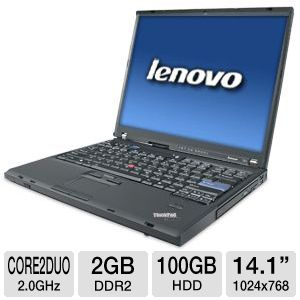 Lenovo ThinkPad T61 Notebook PC (Off Lease)