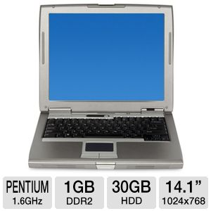Dell Latitude D510 Pentium M 30GB Notebook