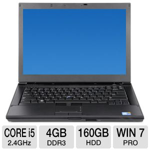 "Dell Latitude 14.1"" Core i5 160GB HDD Notebook"