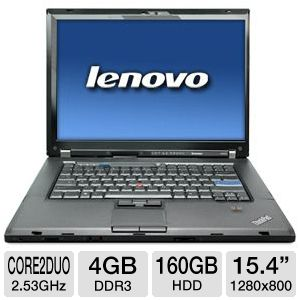 Lenovo ThinkPad W500 Core 2 Duo 160GB Notebook