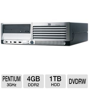 HP DC7700 Pentium 1TB Desktop PC (Off Lease)