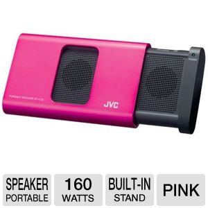 JVC SPA130PN Portable Compact iPod Speaker