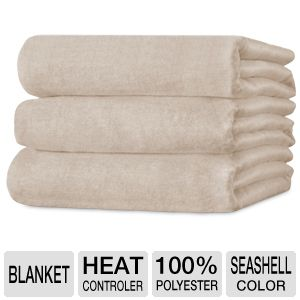 Sunbeam Heated Electric Blanket Twin Size