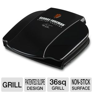 "George Foreman 36"" sq. Non-Stick Electric Grill"