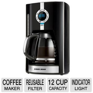 Black & Decker 12 Cup Coffee Brewer