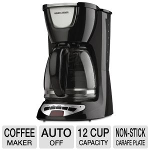 Black & Decker 12 Cup Programable Coffeemaker