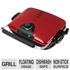 "George Foreman G5 Grill 84"" Sq Multi-Plate Grill"