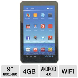 "Jazz UltraTab 9"" Android 4.0 4GB WiFi Tablet"