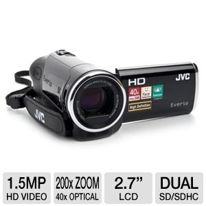 JVC GZ-HM30BUS Everio HD Camcorder (Refurbished)