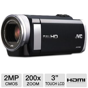 JVC GZ-E200BUS Digital Camcorder