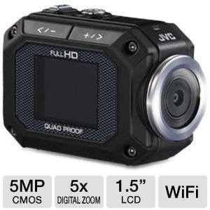 JVC Adixxion Quad Proof Action Camera 