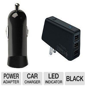 iLuv Compact USB Power Charger Duo