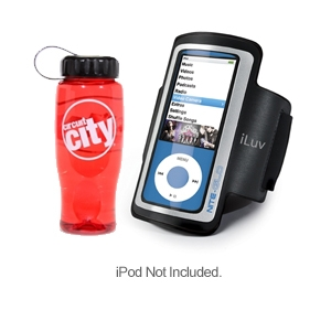iLuv Armband iPod Case & Water Bottle Kit