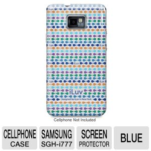 iLuv ISS222USBLU Hard Shell Case