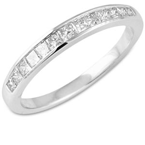 1/4Ct Diamond Anniversary Band