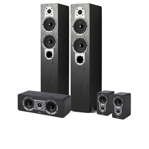 Jamo S426HCS3 5pcs Home Theater Speaker Sys REFURB