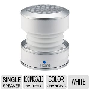 iHome IHM59W Rechargeable Mini Speaker