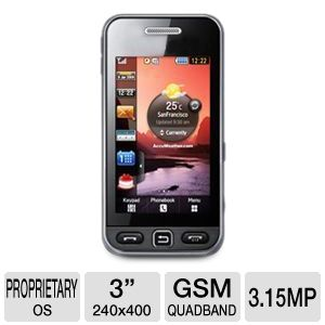 Samsung S5230 Star Unlocked GSM Cell Phone