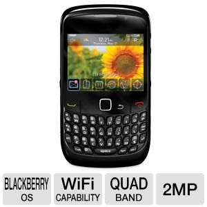 Blackberry Curve 8520 Gemini Unlocked Cell Phone