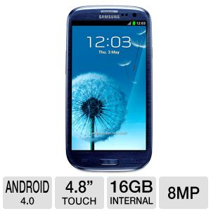 Samsung Galaxy S III I9300 Unlocked GSM Cell Phone