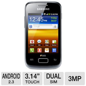 Samsung Galaxy Y Duos Unlocked GSM Cell Phone