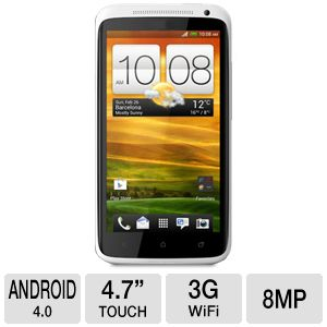 HTC One X 1.5 GHz Quad-Core Unlocked Cell Phone