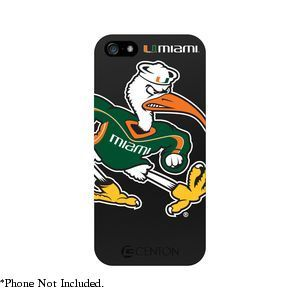 Univ of Miami Case Compatible with iPhone� 5