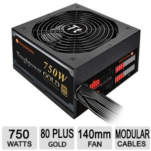 Thermaltake Toughpower 750W PSU