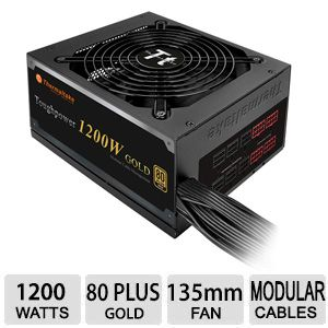 Thermaltake Toughpower 1200W Gold - 80 PLUS Gold