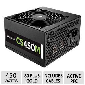Corsair CS Series� CS450M 450W Modular PSU