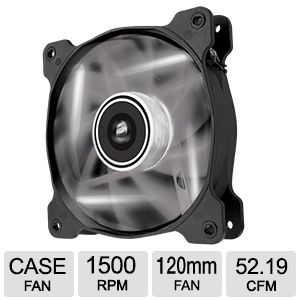 Corsair Air Series AF120 LED White Fan  - CO-90500