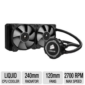 Corsair Hydro Series H105 240mm Liquid CPU Cooler