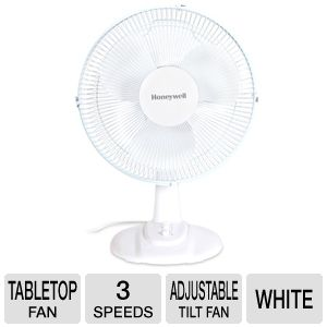 Kaz HT-1209 Personal Oscillating Tabletop Fan