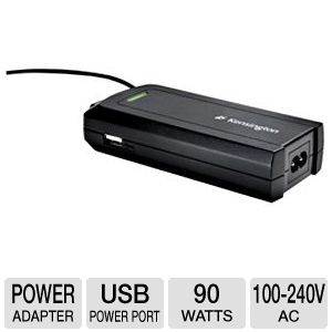 Kensington Laptop Power Adapter with USB PowerPort